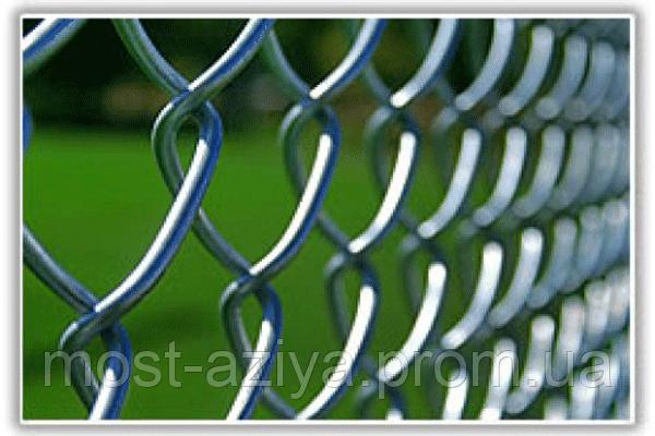 Забор из сетки Рабицы цена, установить забор из рабицы под ключ