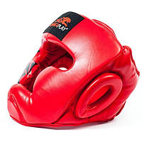 Боксерский шлем PowerPlay 3043 Red, фото 1