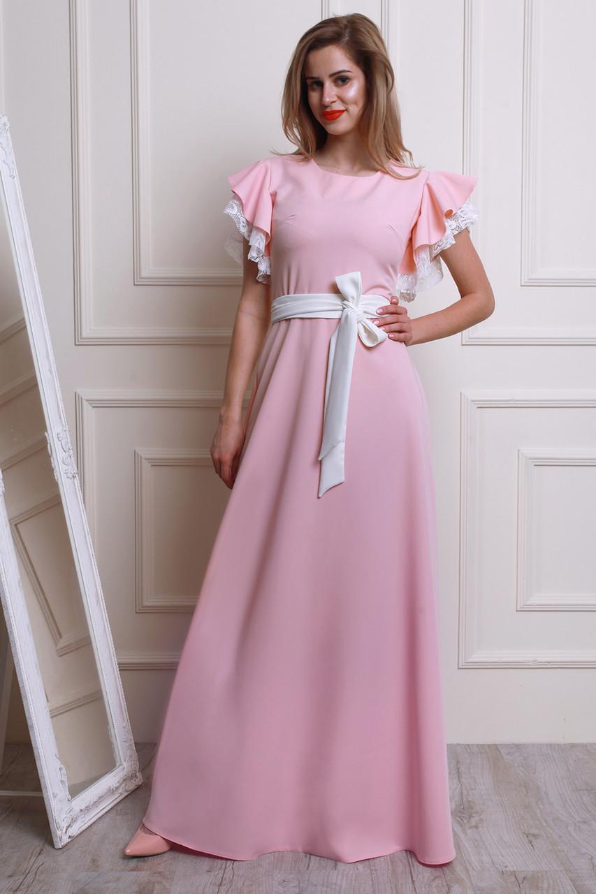Пудровый Цвет Платья Купить