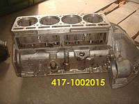 Новый Блок картера УАЗ 417-1002015 (сделано в СССР) с кожухом маховика