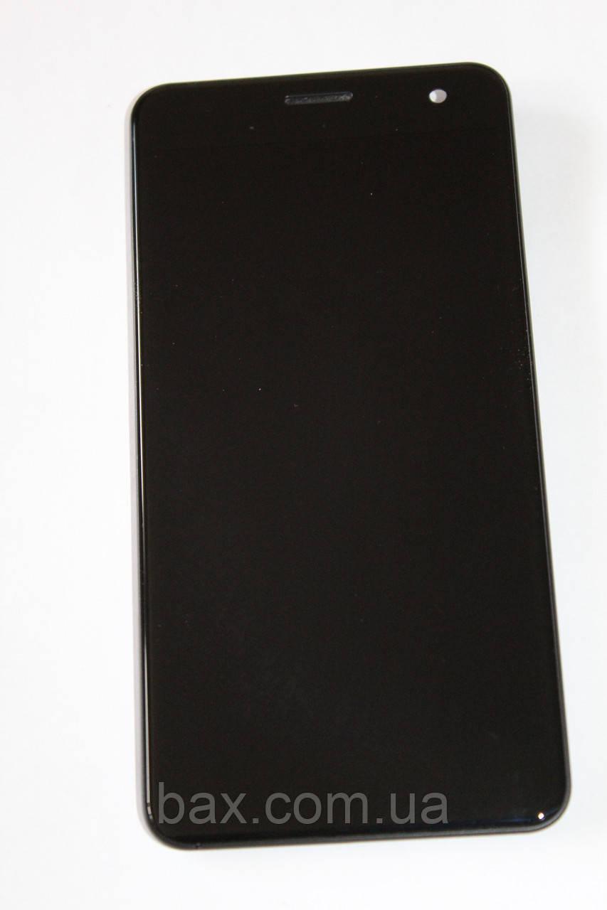 Fly FS514 модуль с рамкой (ориг.) черный