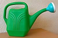 Лійка садова для поливу (пластик) 6л, h = 31см, d = 16 см./ Лейка садовая для полива 6л.