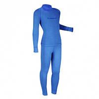 Теплое детское термобелье Radical Snowman (голубой).  (r1183)