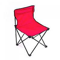 Раскладное кресло паук для пикника и рыбалки WSI41147-1 Red,  кресло туристическое