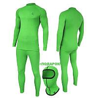 Теплое мужское термобелье Radical Radical Madman (зеленый). Комплект+подарок! (r1122)