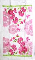 Набор кухонных полотенец хлопок-велюр Орхидея 3 шт. 38 на 63 см, SNT 93208-2