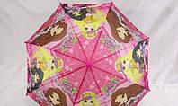 Бюджетный детский зонтик для девочки К-1-3