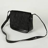 Женская наплечная сумка под кожу питона из кожзама М52-14/Z