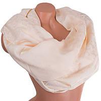 Нежный, стильный женский двусторонний палантин из хлопка и шелка 176 на 69 см BILEM (БИЛЕМ) SAT17251 розовый