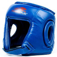 Боксерский шлем PowerPlay 3045 Blue   , фото 1