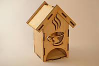 Чайный домик из дерева.
