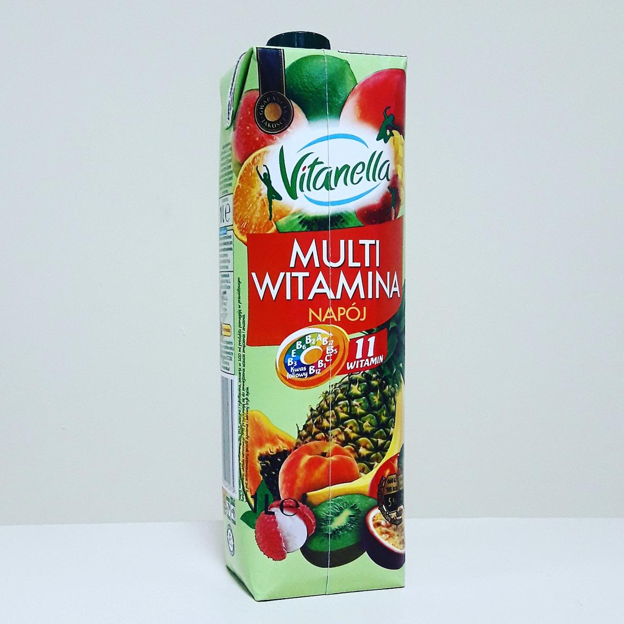 Сок Vitanella Multi Witamina  1 л