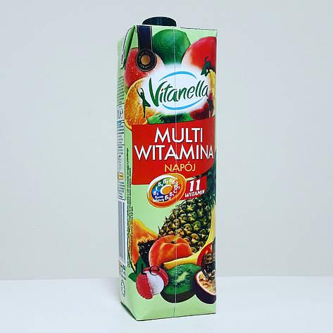 Сок Vitanella Multi Witamina  1 л, фото 2