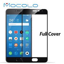 Защитное стекло Mocolo 2.5D 9H на весь экран для Meizu M3e черный