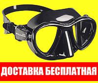 Маска для плавания Salvimar Goblin, чёрная рамка Сальвимар Гоблин подводной охоты дайвинга снорклинга