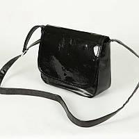Женская сумка через плечо из кожзама М52-63/лак