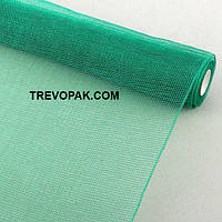 Сетка простая ярко-зеленая для упаковки цветов
