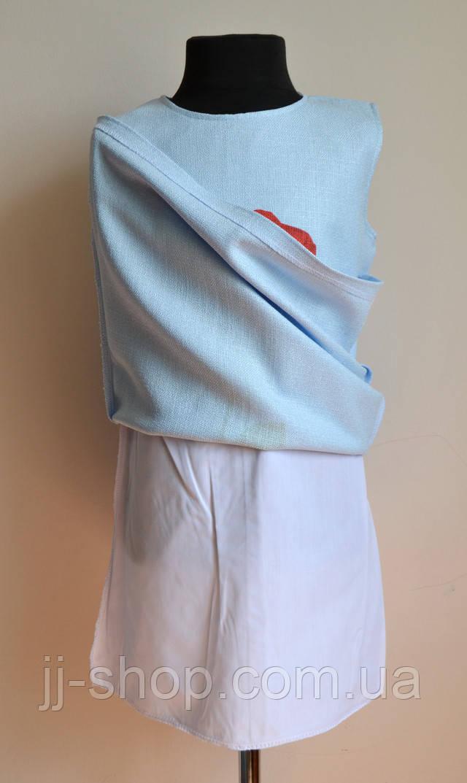 Вид покладки детского платья