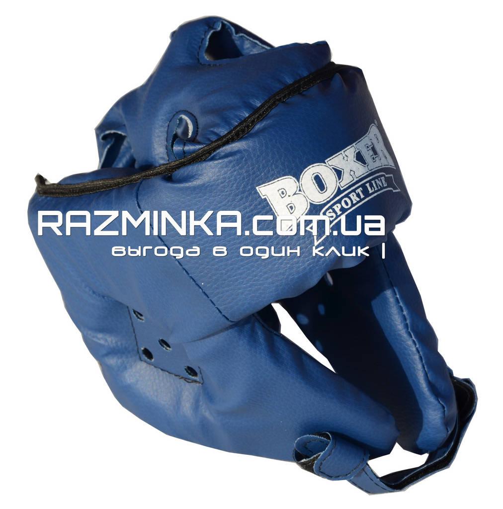 Шлем для карате р.L (кожвинил)