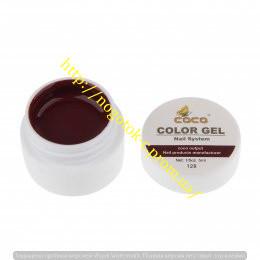 Гель цветной color gel №128