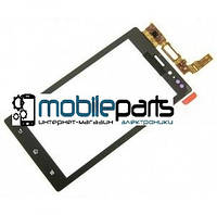 Оригинальный Сенсор (Тачскрин)  для Sony MT27i | Xperia Sola (Черный)