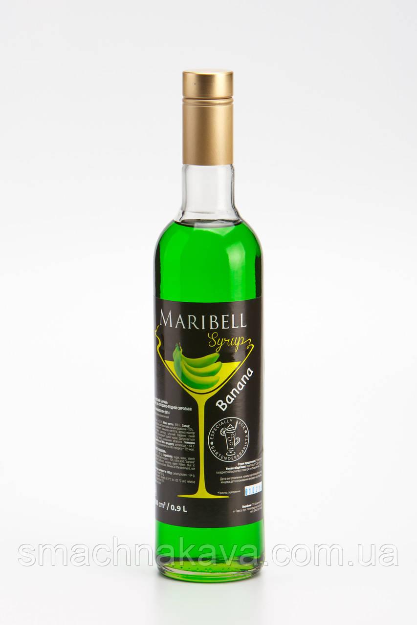 Сироп  Зеленый банан ТМ Maribell