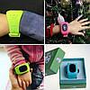 Детские GPS часы Smart Baby Watch Q50 LCD dark blue, фото 6