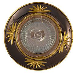 Накладной светильник точечный АСКО-УКРЕМ 104B CF PS/G MR11