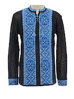 Мужская вязаная рубашка Влад ультра (х/б)