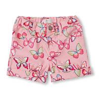 Котоновые шорты для девочки Childrens Place на 4 года