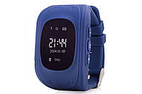 Детские GPS часы Smart Baby Watch Q50 LCD dark blue