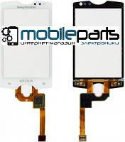 Оригинальный Сенсор (Тачскрин)  для Sony Ericsson ST15i Xperia mini (Белый) (С рамкой)