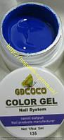 Гель цветной color gel №135