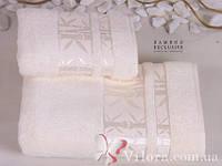 Полотенце бамбуковое белое Cestepe exclusive 50*90