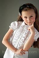 Нарядні блузи в школу, шкільная форма, купити для дівчинки в Украині