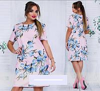 Платье летнее батал 50-60 размеры