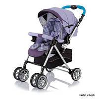 Прогулочная коляска Jetem S-802, Violet Checker