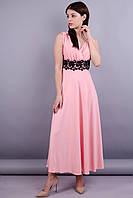 Грация. Нарядное платье. Розовый.
