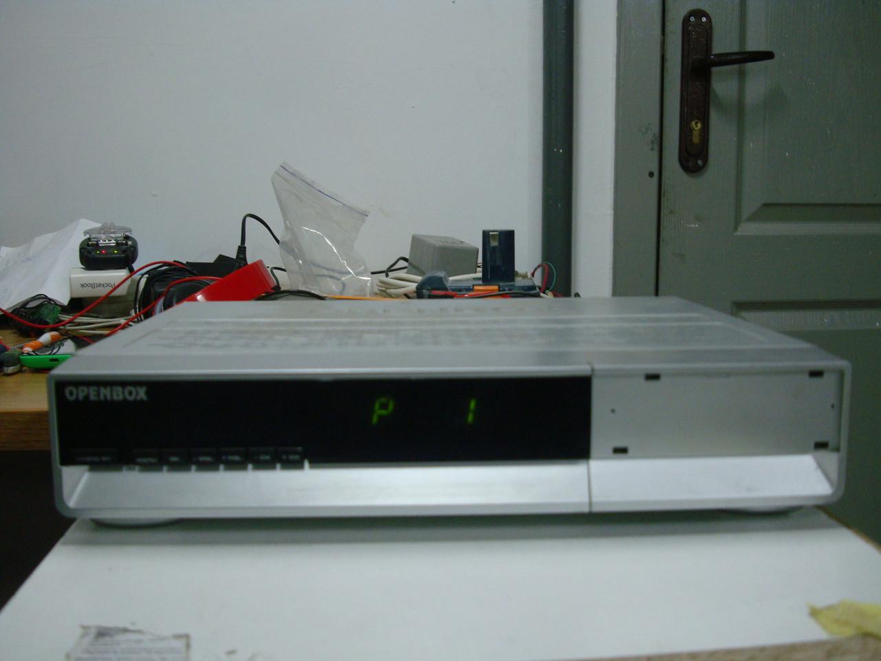Б/у спутниковый ресивер openbox x-800