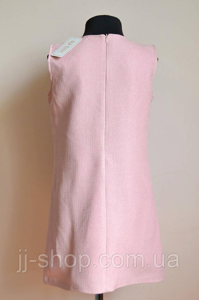 Платье для девочки, подростковое розовое, детское