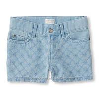 Джинсовые шорты для девочки Childrens Place на 5, 6 лет