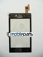 Оригинальный Cенсор (Тачскрин) для Sony Xperia Miro ST23i (Черный)