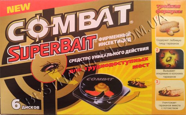 Комбат ловушка «Супер Байт» 6 дисков