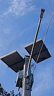 Освещение пешеходных переходов системой на солнечных батареях