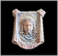Гипсовый лик Христа (гіпсова ікона). Изделия из гипса и бетона
