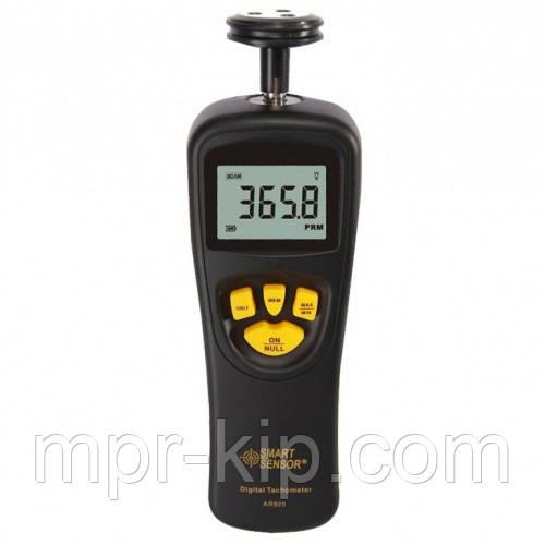 Контактный тахометр Smart Sensor AR925 (0,5~19999 об/мин) с 5 насадками