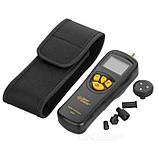 Контактный тахометр Smart Sensor AR925 (0,5~19999 об/мин) с 5 насадками, фото 5
