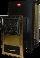Печь-каменка  для саун ДПС-8в-выносная с сеткой для камней.