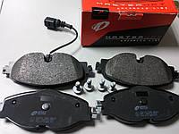 Колодки тормозные передние на AUDI, SEAT, Skoda, VW