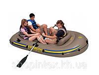 Надувная лодка Excursion 3 Set Intex 68319 (262х157x42 см.)